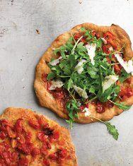Sausage, Arugula, and Parsley Pizza   Recipe
