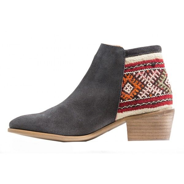 TAHIRA BOOTS GREY SIZE 38 - Howsty
