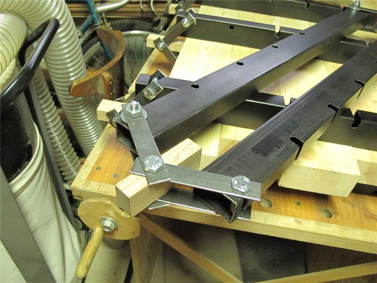 Пресс для склеивания древесины своими руками 27