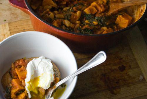 Simple Peasantries [Chipotle White Bean Stew with Sweet Potato & Kale ...