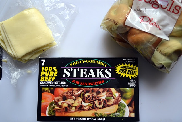 Appetizer - Easy Philly Cheese Steak Bagel Bites could also put on a ...