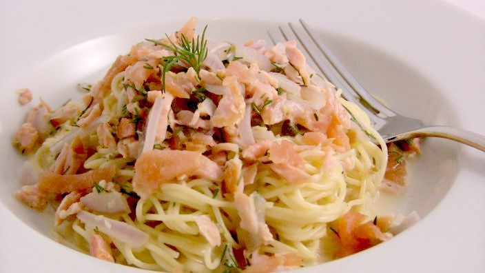 Smoked Salmon Pasta | Manger | Pinterest