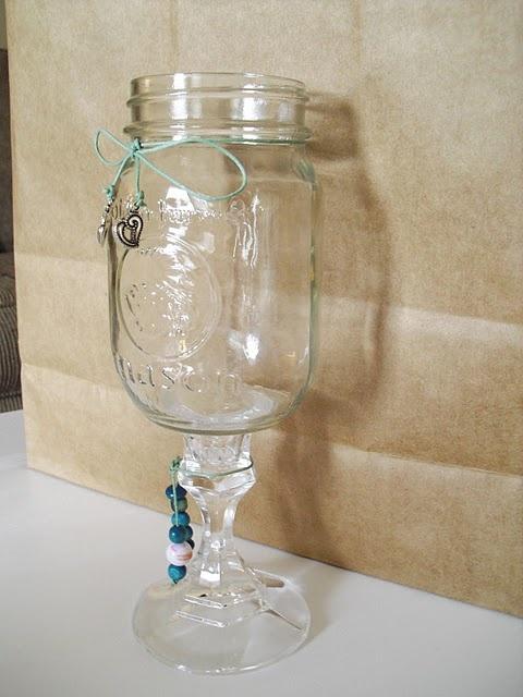 Hillbilly wine glass