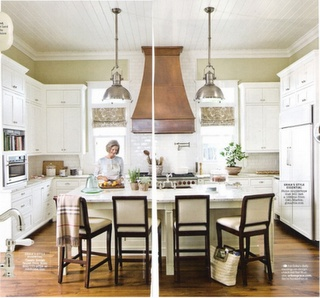 beautiful mix of metals in a kitchen by erika powell
