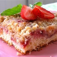 Fresh Strawberry Coffee Cake | Recipe