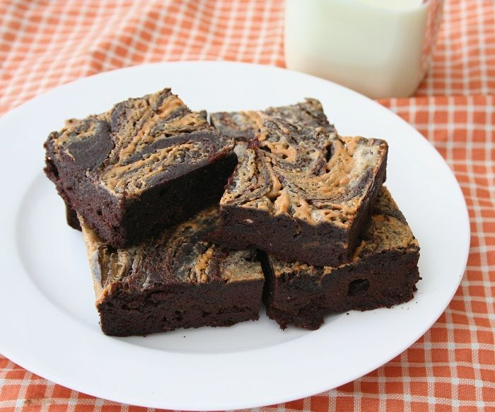 Peanut Butter Swirl Brownies – Low Carb and Gluten-Free | Recipe