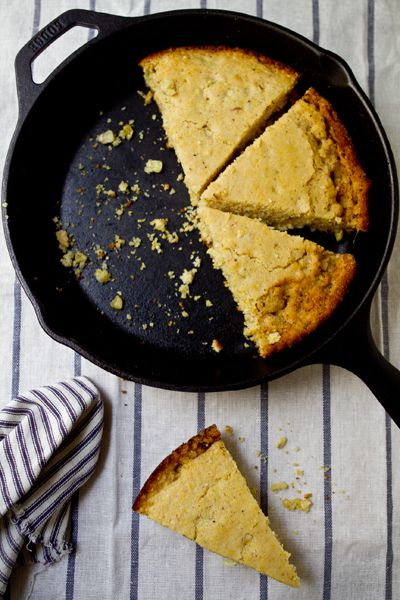 Browned Butter Cornbread Recipe from A Communal Table #weeknight # ...
