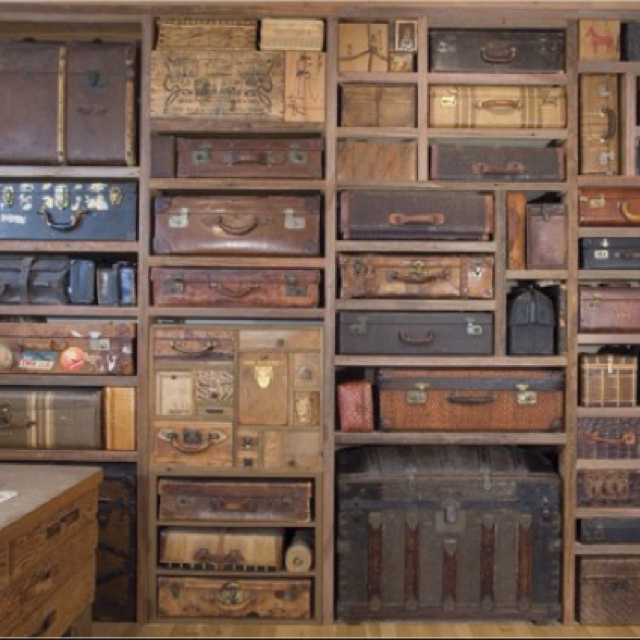 Repurposing old suitcases - Repurposing old suitcasescreative ideas ...