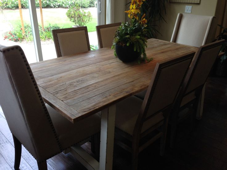 Dining room table ideas pinterest