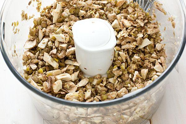 Lentil Mushroom Meatballs | Recipe