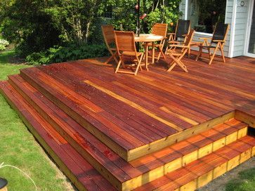 Home Water Fall Stairs : Backyard Deck waterfall stairs  home ideas  Pinterest