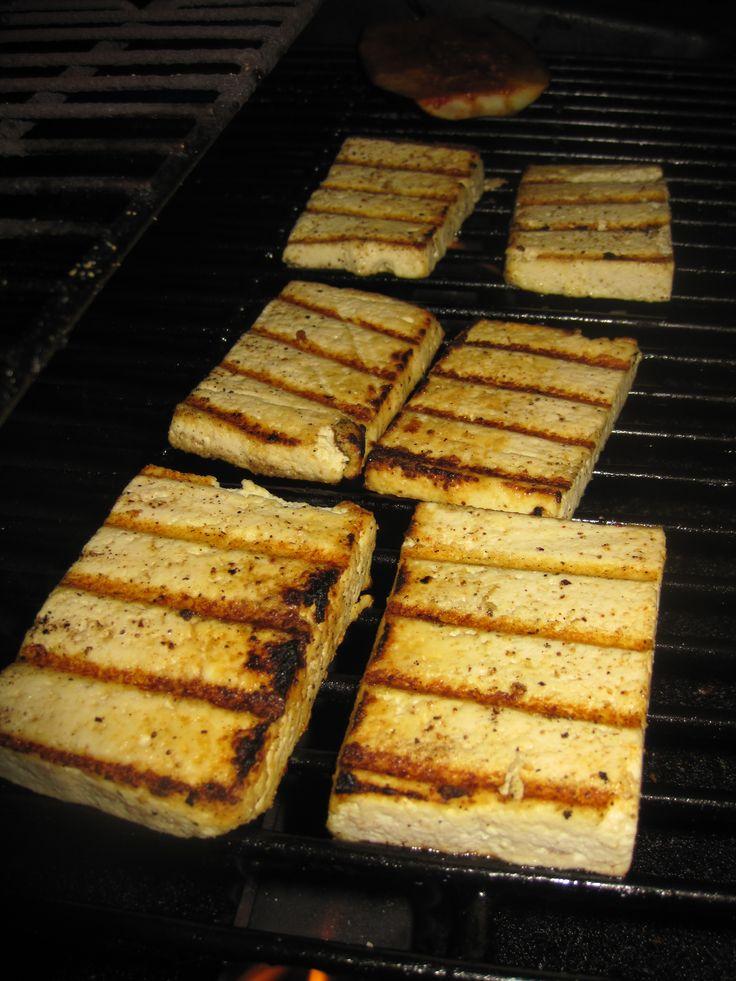 marinated and grilled tofu - Rogan Josh recipe and lemon pepper recipe