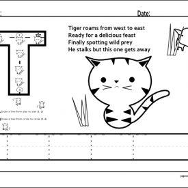 Tracing Alphabet Worksheets | Letter T | ALPHABET - Letter T | Pinter ...