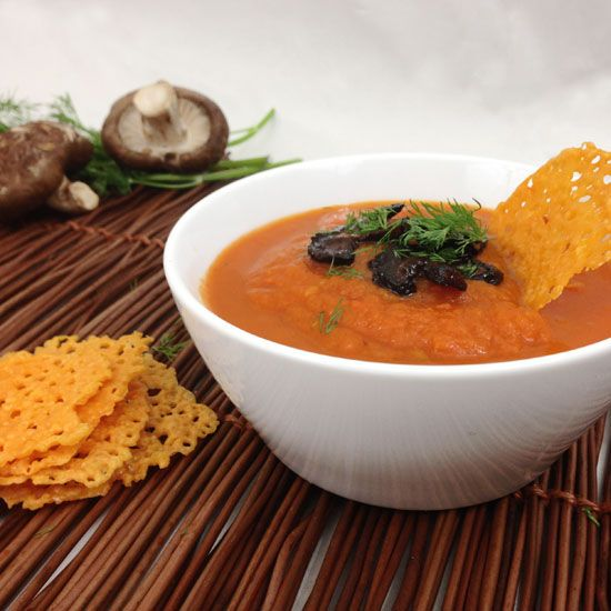 Spicy Carrot Soup by SpicyCarrot | Soups | Pinterest