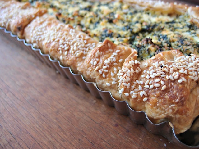 Milk and Honey: Ricotta and Dill Tart | Flavours and Tastes | Pintere ...