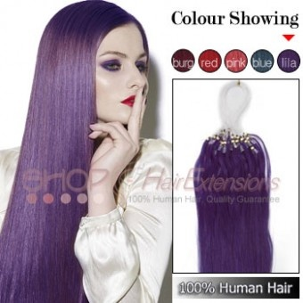 Purple Desire Hair Extensions 18 Inch 15