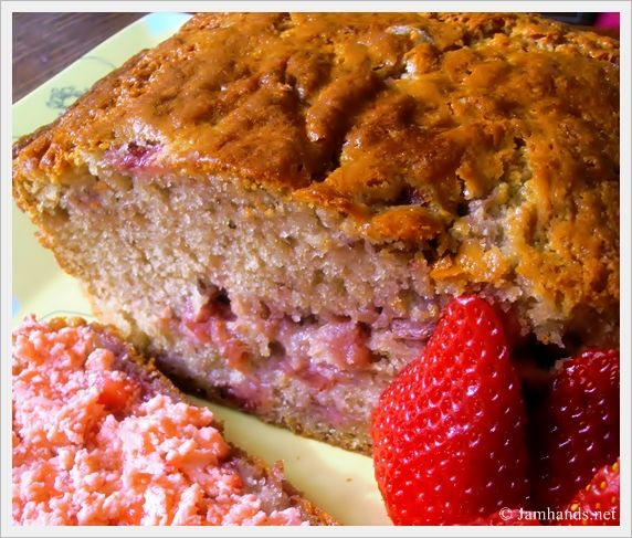 Strawberry Bread with Strawberry Butter | You're SWEET:) | Pinterest