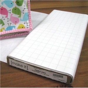 Fusible Vinyl - turn any fabric in to waterproof fabric