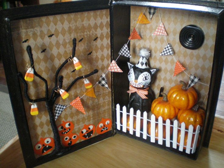 Vintage halloween decor halloween pinterest for Antique halloween decoration