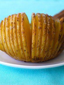Yukon Gold Potato Fans | Weelicious