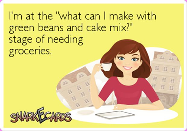 cooking, funny ecard, grocery funny