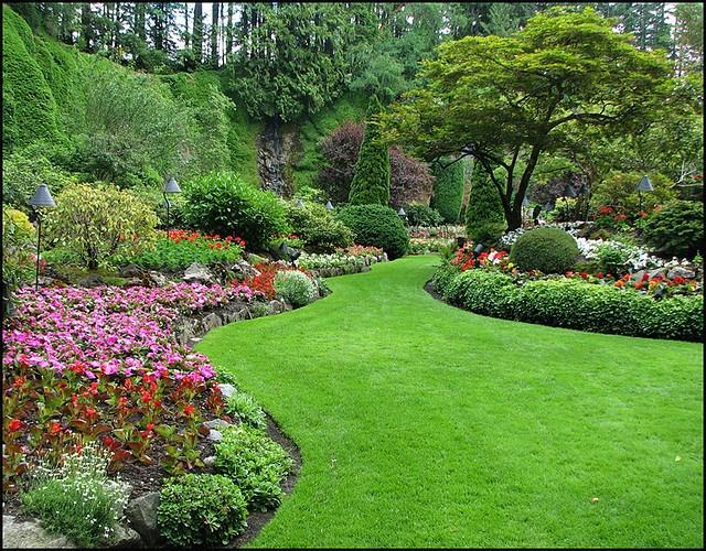 Butchart Gardens Outdoor Garden Inspiration Board