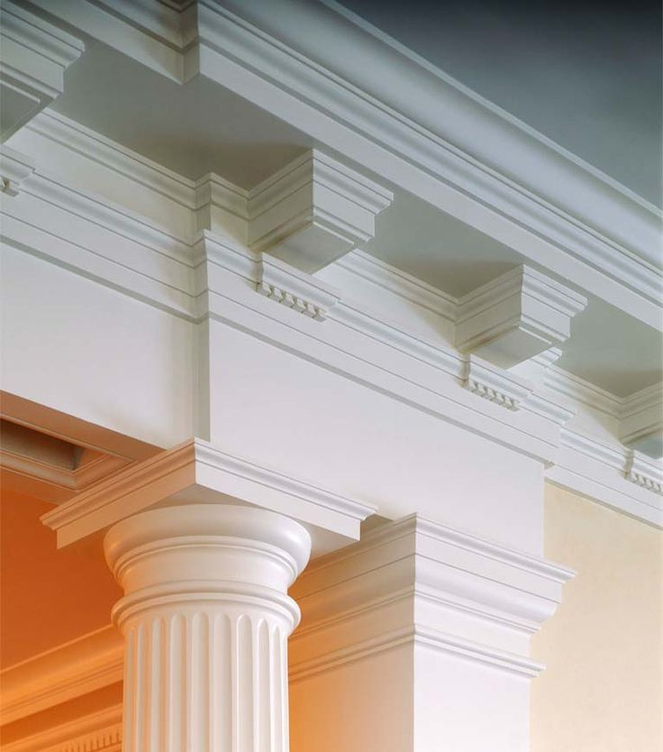 Crown Molding Dentil Blocks Column Millwork It 39 S
