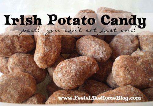 Irish Potato Candy Recipe for St. Patrick's Day