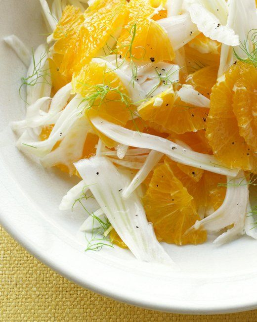 Fennel and Orange Salad from Martha Stewart