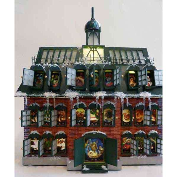 Christmas Vacation Advent House Calender Kit New