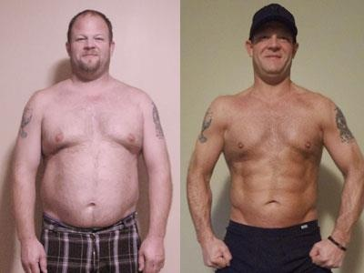 Brian lost 69 pounds on the Body By Vi 90 Day Challenge.
