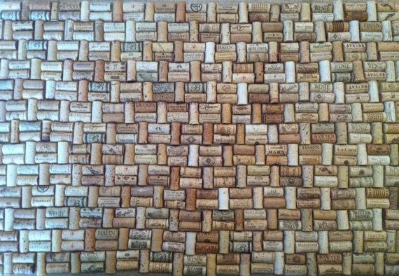 Gorgeous recycled wine cork mats lg size corkrug winecork for Wine cork welcome mat