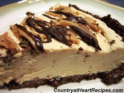 Frozen Peanut Butter Pie | Food | Pinterest