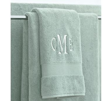 Monogram Bath Towels Bath Ideas Pinterest