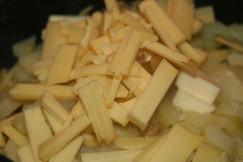 Smoked Gouda Roasted Garlic Mashed Potatoes -- they are AMAZING!
