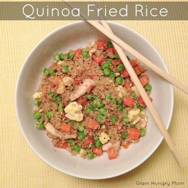 Glam Hungry Mom: Quinoa Fried Rice | Yum | Pinterest