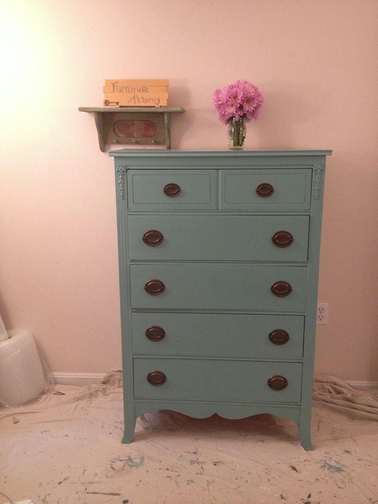 Annie Sloan Provence dresser