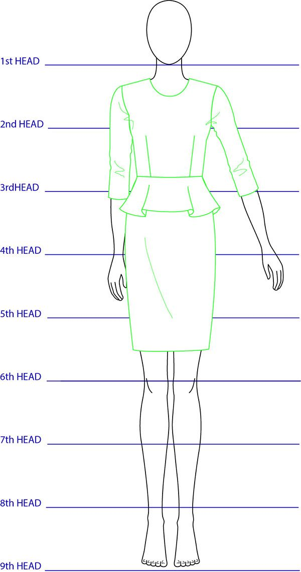9 heads fashion notebook pdf