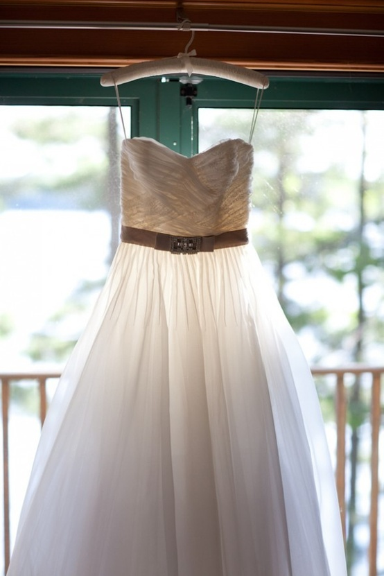 Kinda getting this vibe for her. Rustic wedding dress