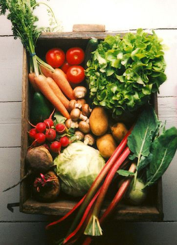 If @Christina D From Scratch Club styled her CSA boxes, the would surely look like this!
