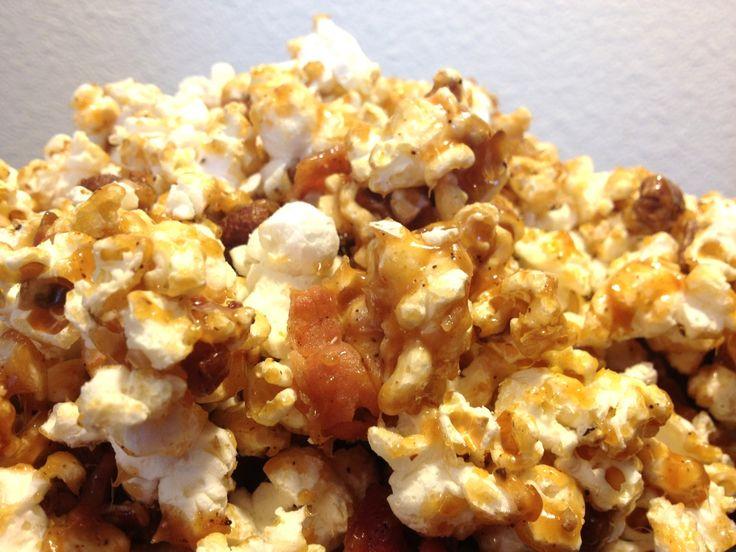 Maple Bacon Pecan Popcorn - Holy Crap! | Food I Make | Pinterest