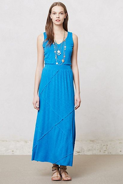 Sapphire Day Dress #anthropologie