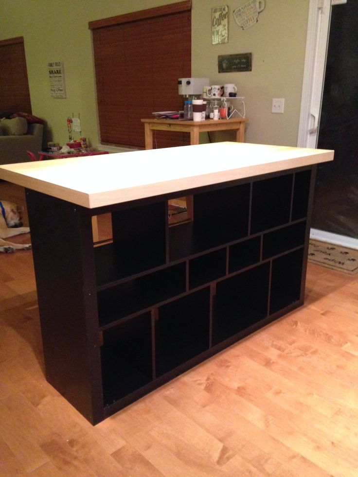 Ikea Kleiderschrank Visdalen ~ Ikea hack Kitchen island  kitchen  Pinterest