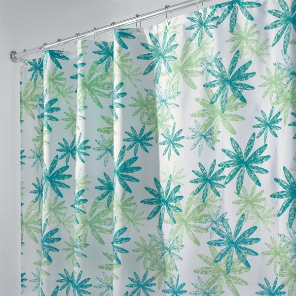 Blue And Green Shower Curtains Blue And Green Gabriella Shower Curtain World Market Blue And