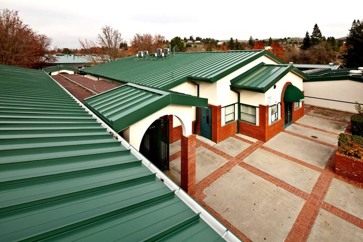 Charlotte Wood Middle School, Danville, CA #metal #roof