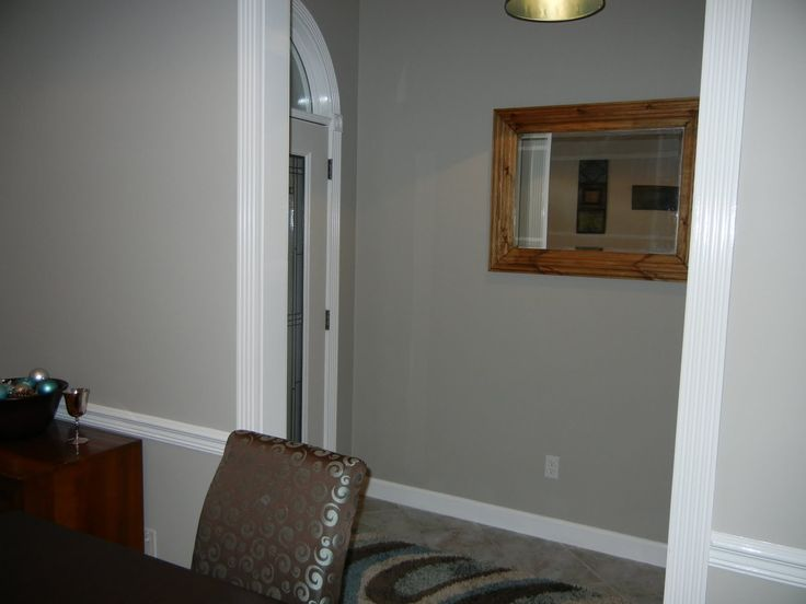 ... Life: The Easiest Color Choice EVER Amazing Gray Sherwin Williams