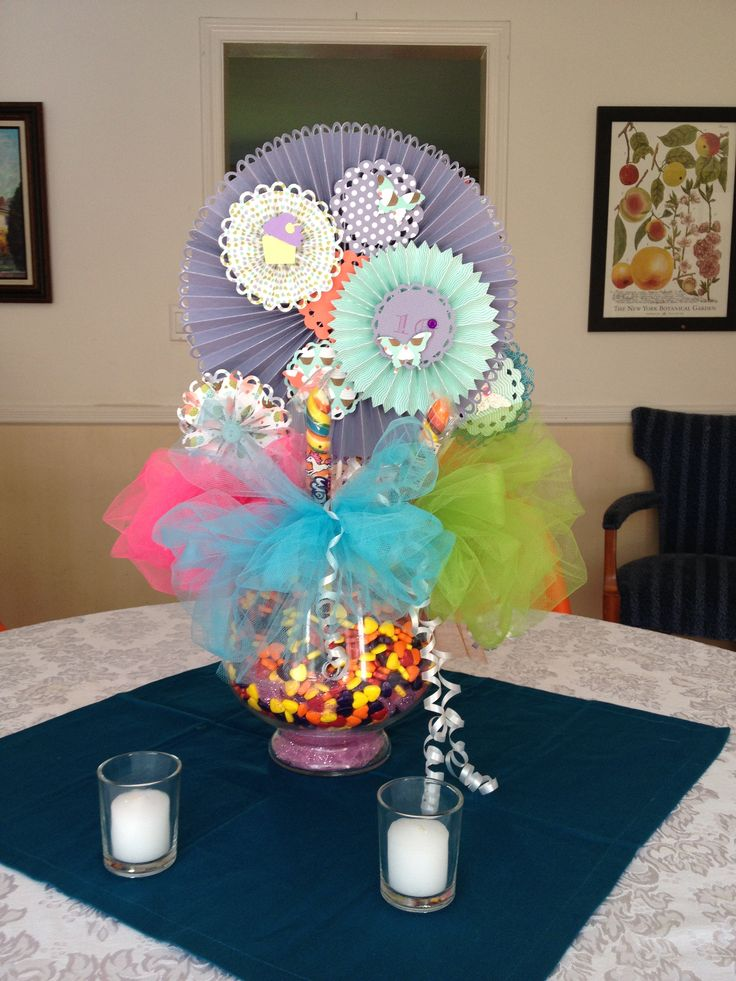 Sweet quot candy land centerpieces fundraising pinterest