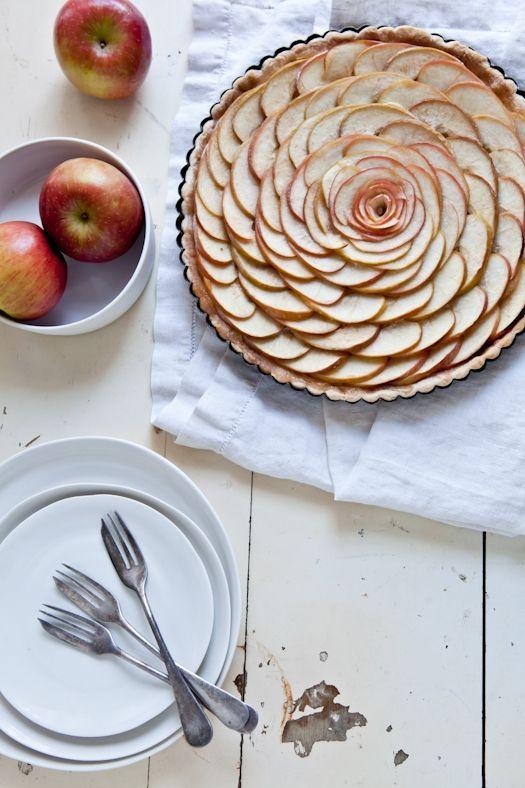Gluten-Free Thin Apple Tart from Tartelette