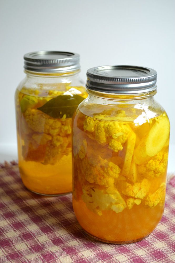 Pickled Cauliflower Recipe and Instructions from Because I Like ...