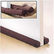 At night when you are in bed and ready to sleep, you can slide the drape in front or on the sides of your door to help block and absorb the sound waves. Some other ideas to deaden sound in your bedroom Place bookshelves on either side of the door to help absorb the sound can really help.